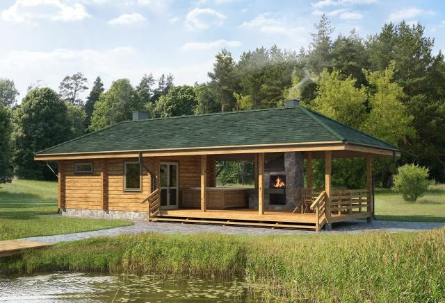 Log bath house plans designs catalogue for Bath house plans