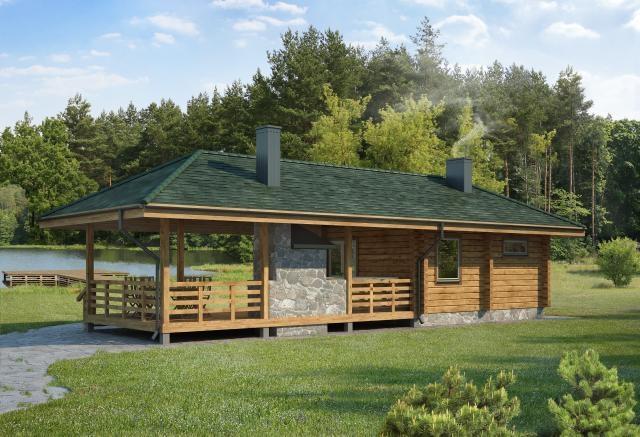 Log Bath House Plans Designs Catalogue