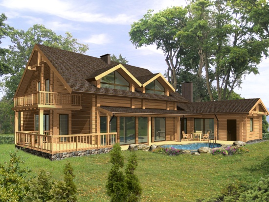 Log house plans designs catalogue for Log home house plans designs