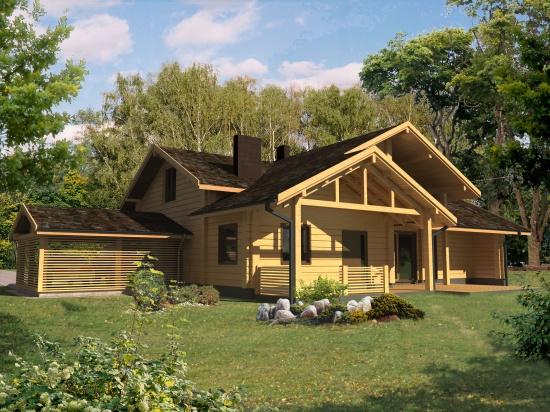 Log house plans. Designs catalogue: www.woodhouses.eu/lt.php/log_house_plans_L02