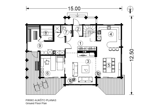 Log house plans Designs catalogue